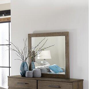 Union Rustic Smiley Square Dresser Mirror