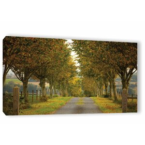 'Colors of Autumn' Photographic Print on Canvas by Charlton Home