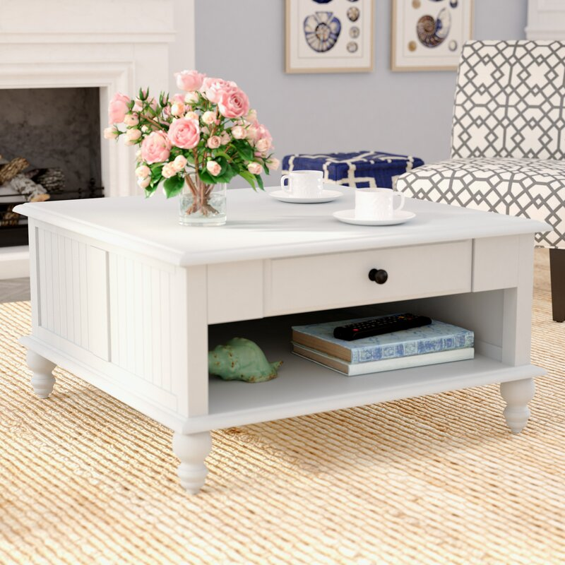 Rosecliff Heights Witherspoon Coffee Table with Storage ...