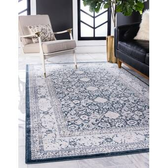 East Urban Home Home Sweet Aurora Poly Chenille Rug Wayfair