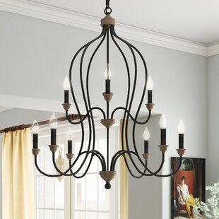 Find Arcadia 9-Light Chandelier By Andover Mills