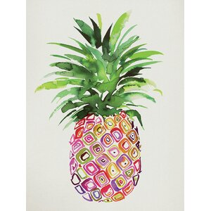 Pineapple by Summer Thornton Canvas Wall Art