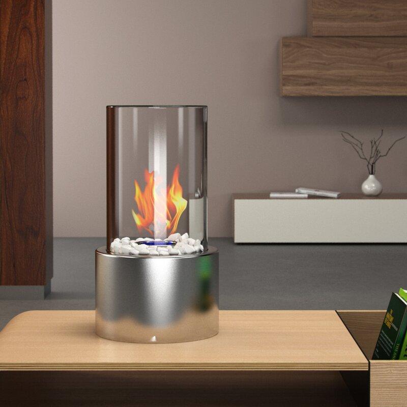 Good Eden Ventless Portable Bio Ethanol Tabletop Fireplace