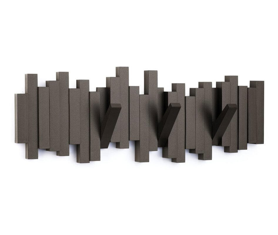 sticks wall mounted coat rack reviews allmodern. Black Bedroom Furniture Sets. Home Design Ideas