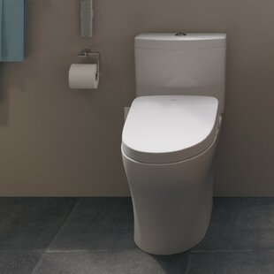 Read Reviews WASHLET S550e Modern Elongated Toilet Seat Bidet By Toto