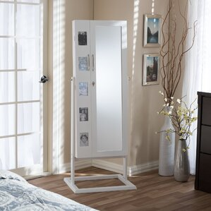 Alcala Wood Floor Standing Double Door..