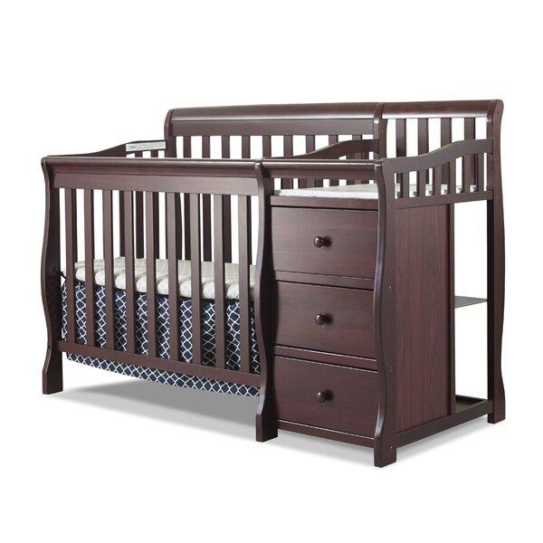 Great Sorelle Newport 2 In 1 Convertible Mini Crib U0026 Changer U0026 Reviews | Wayfair