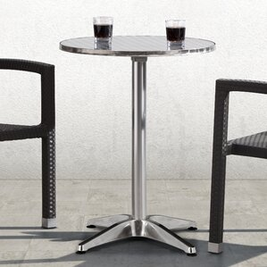 Applegate Round Folding Bistro Table by Varick Gallery