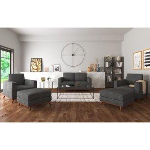 Tinney 5 Piece Standard Living Room Set by Corrigan Studio®