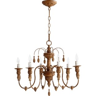 Antique bronze chandeliers youll love wayfair save to idea board aloadofball Choice Image