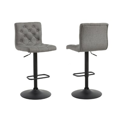 Witney Adjustable Height Swivel Bar Stool