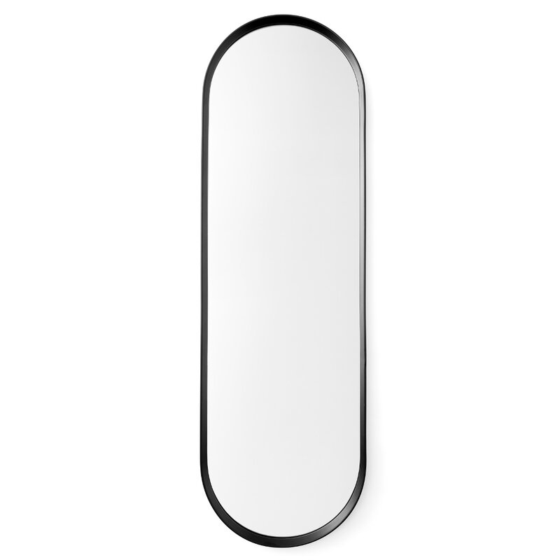 Oval Wall Mirror menu norm oval wall mirror & reviews | wayfair