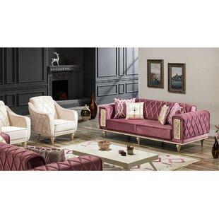 Mayton 4 Piece Sleeper Living Room Set by Rosdorf Park