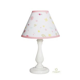 Compare prices Happy Enchanted Birds 10 Linen Bell Lamp Shade By Harriet Bee