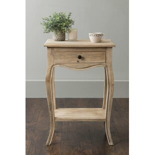 Steinbeck End Table with Storage