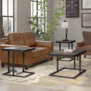 Albert 3 Piece Coffee Table Set Trent Austin Design