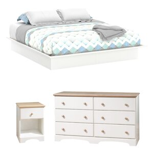Newbury Platform Configurable Bedroom Set by South Shore