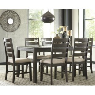 Captivating Rokane 7 Piece Dining Set