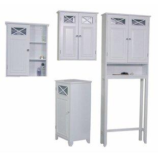 Coddington 4 Piece Bathroom Storage Set  sc 1 st  Wayfair & Industrial Bathroom Storage | Wayfair
