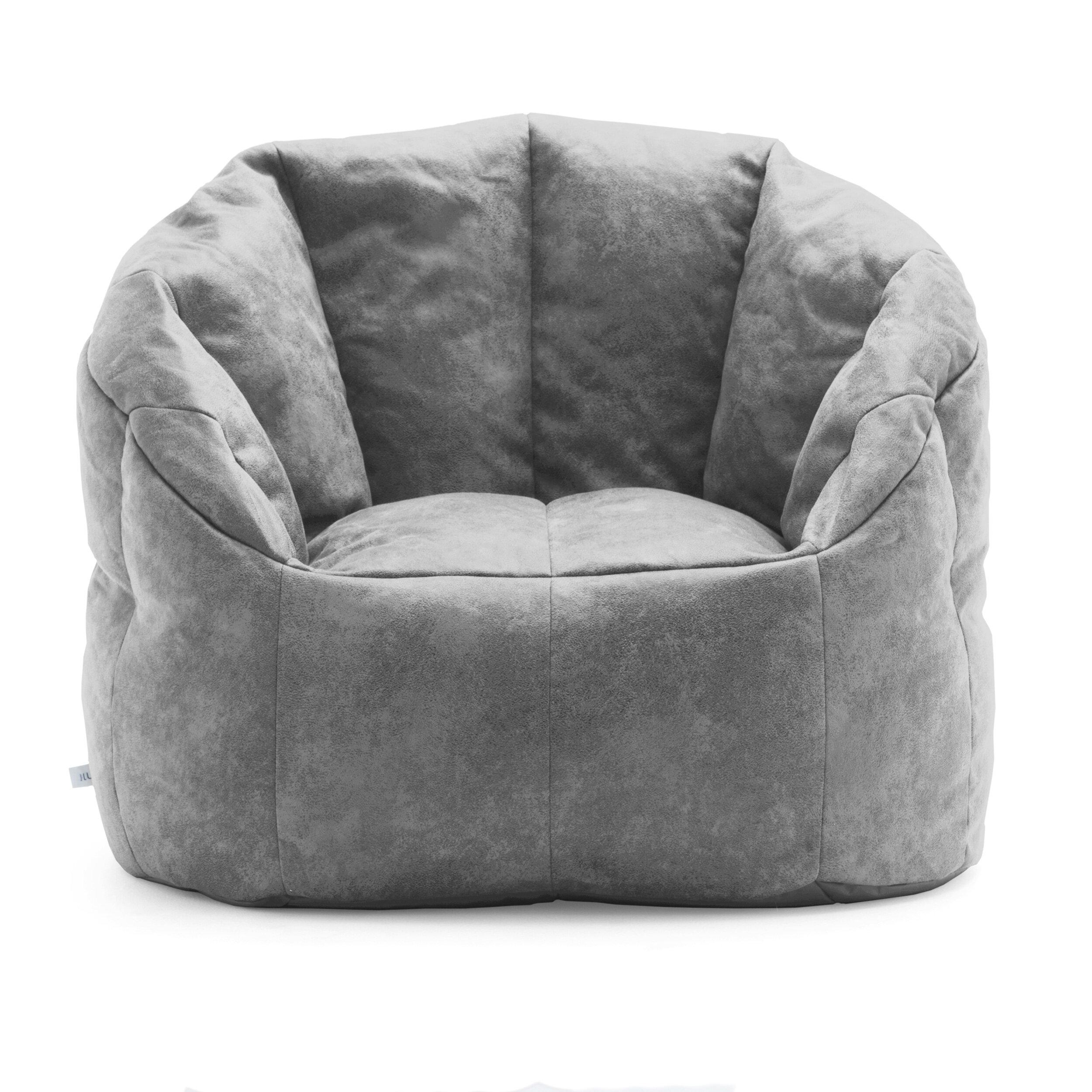 Comfort Research Big Joe Lux Standard Bean Bag Chair Reviews Wayfair