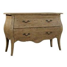 Scarlett 2 Drawer Accent Chest by Furniture Classics LTD