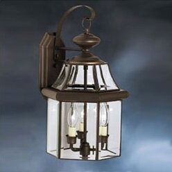 Compare Janette 3-Light Outdoor Wall Lantern By Darby Home Co