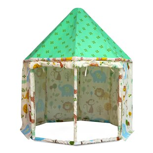 Reviews Animal Kingdom Pavilion Play Tent with Carrying Bag ByAsweets