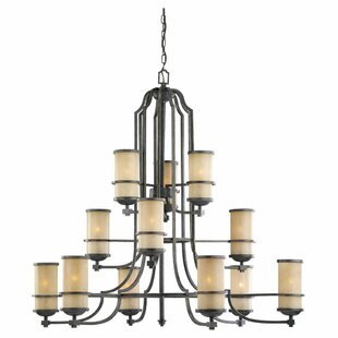 Bale 12-Light Shaded Chandelier By Darby Home Co