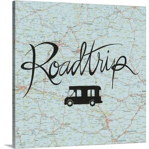 Road Trip II by Grace Popp Textual Art on Canvas by Great Big Canvas