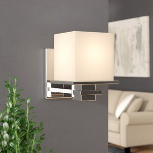 Compare & Buy Muncy 1 -Light Wall Sconce By Latitude Run