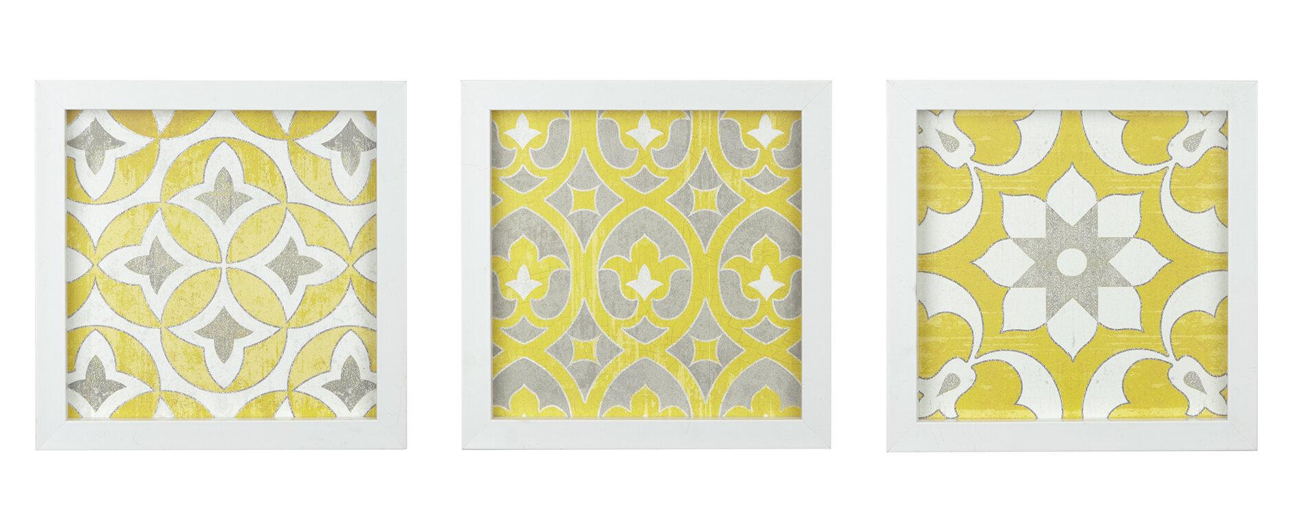 Exelent Wall Art Set Of 3 Sketch - Art & Wall Decor - hecatalog.info