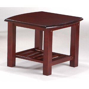 Corona End Table in Rosewood by Night & Day Furniture