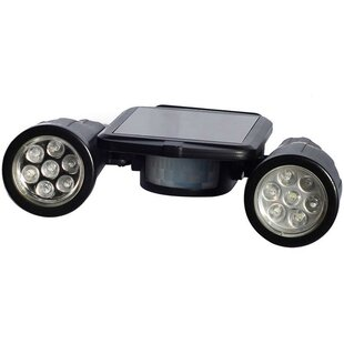 Solar Security LED Outdoor Spotlight with Motion Sensor  sc 1 st  Wayfair & Outdoor Spotlight | Wayfair