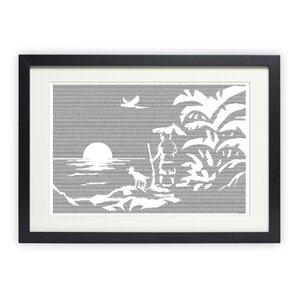 Robinson Crusoe Graphic Art