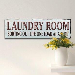 laundry room wall decor Vintage Laundry Room Decor | Wayfair laundry room wall decor