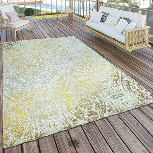 teppich cosette in gelb creme