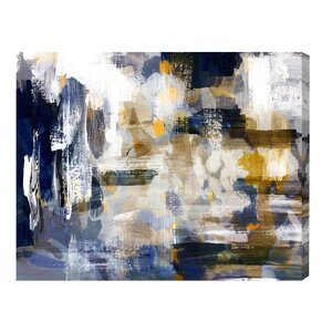 'Nadando' Oil Painting Print on Wrapped Canvas by Mercury Row