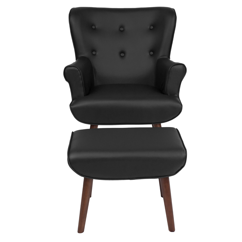 Awe Inspiring John Wingback Chair And Ottoman Short Links Chair Design For Home Short Linksinfo