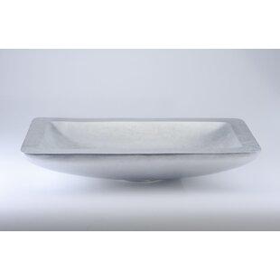 Reviews Vogue Siena Modern Metal Rectangular Vessel Bathroom Sink ByMaestro Bath