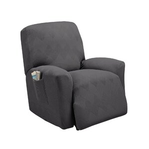 Madden Box Cushion Recliner Slipcover  sc 1 st  Wayfair & Dual Recliner Sofa Slipcover | Wayfair islam-shia.org