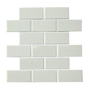 white tile floor. Classique 2  x 4 Porcelain Subway Tile in White Floor You ll Love Wayfair