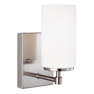 Guide to buy Haworth 1-Light Armed Sconce By Wade Logan