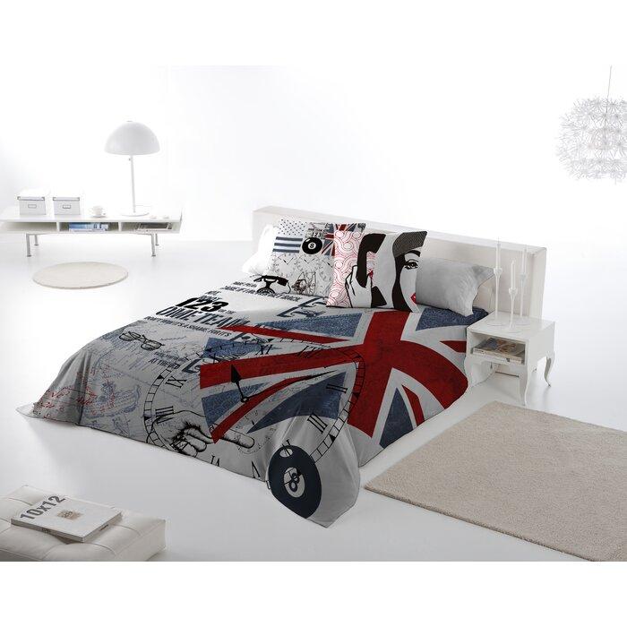 England 3 Piece Queen Duvet Cover Set