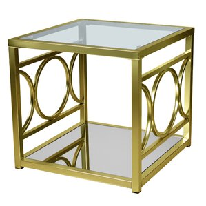 Simonne End Table by Everly Quinn