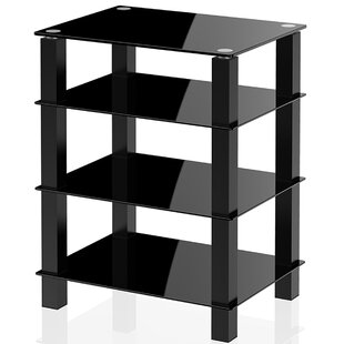 Media Component Stand Audio Rack by Ebern Designs