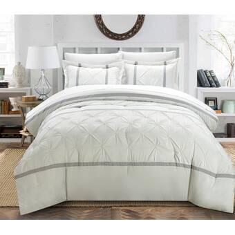 The Holiday Aisle Shipststour 8 Piece Reversible Comforter Set Wayfair
