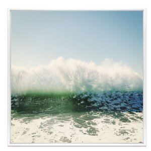 'Foam' Framed Photographic Print by Latitude Run