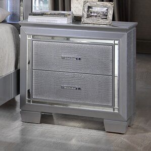 2 Drawer Nightstand by Best Quality Furniture