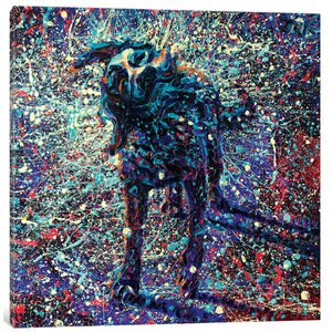 Iris Scott - 'Orion's Boy' Painting Print on Canvas by East Urban Home