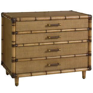 Twin Palms 3 Drawer Accent Chest